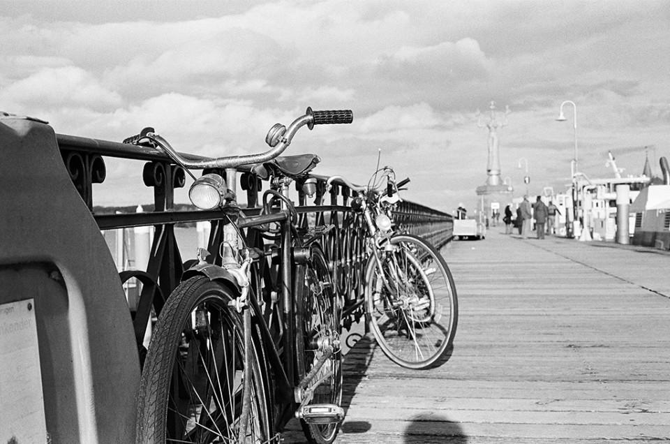 Fahrrad am Anleger, Konstanz
