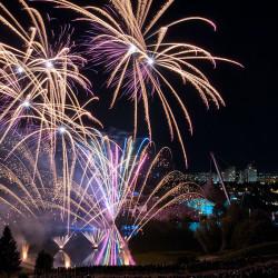 Feuerwerk Olympiapark