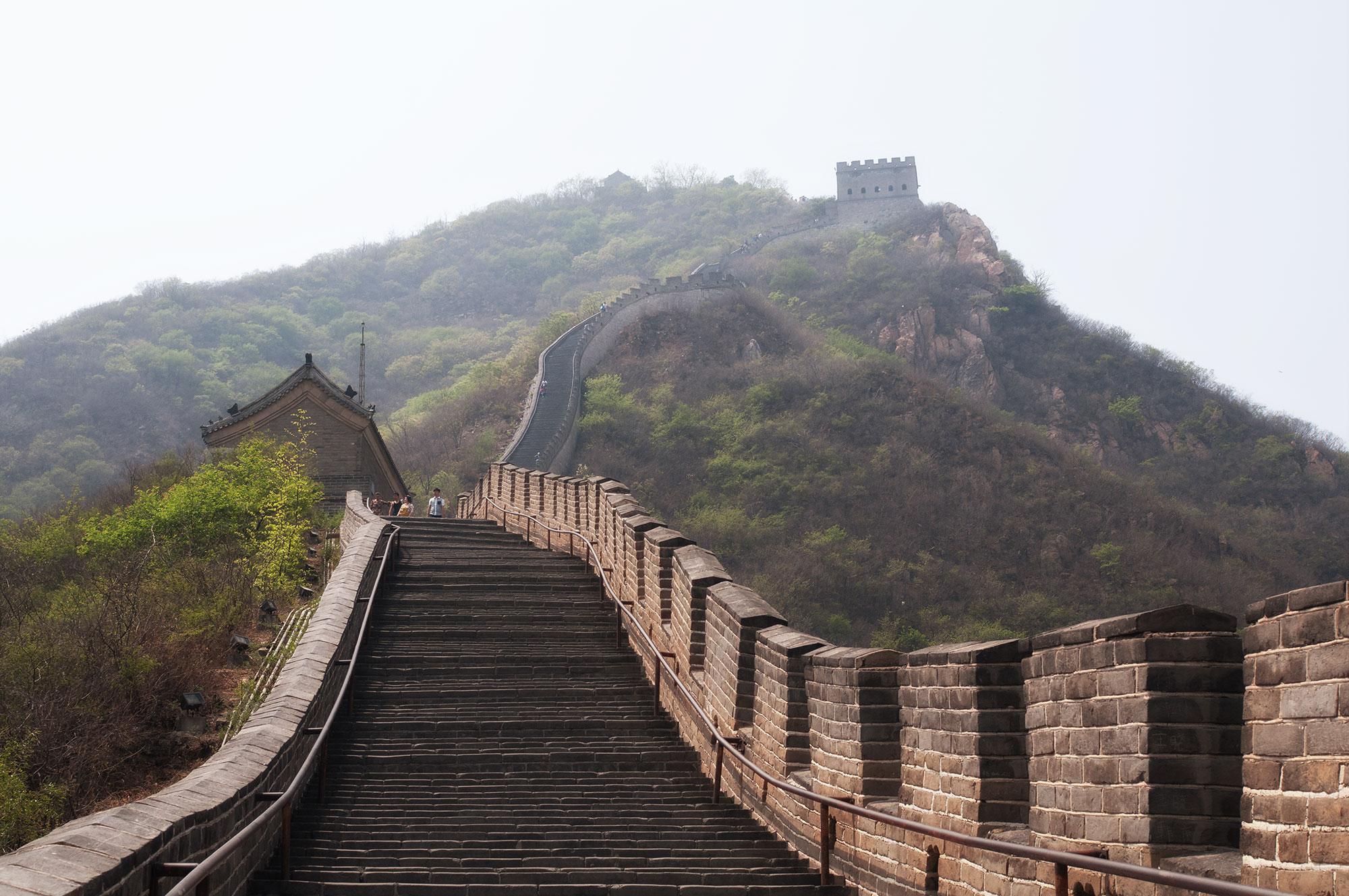 Auf der chinesischen Mauer: Der Juyongguan-Abschnitt des chinesischen Wahrzeichens
