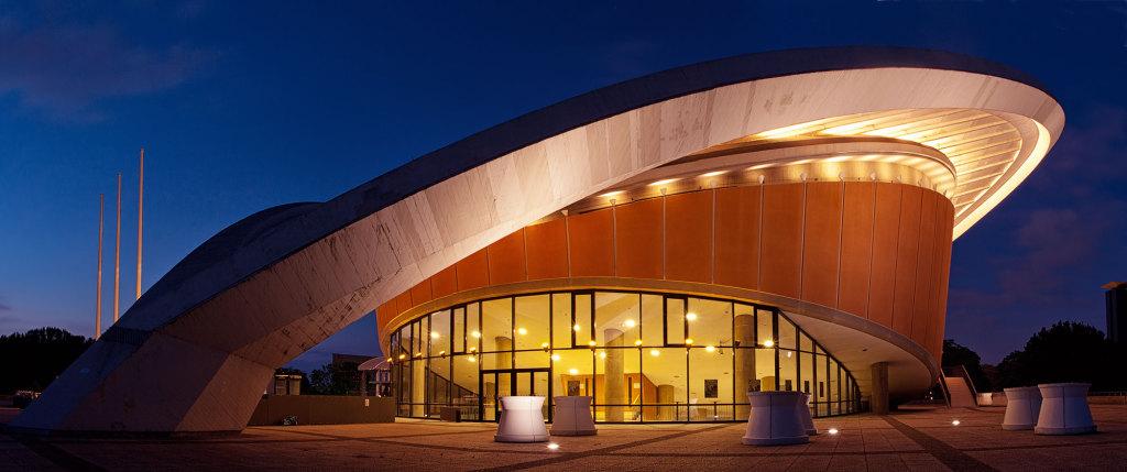 Panorama der Berliner Kongresshalle