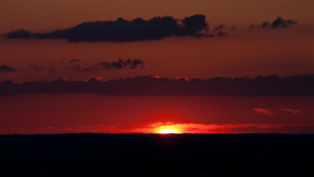 Sonnenuntergang in der Ferne