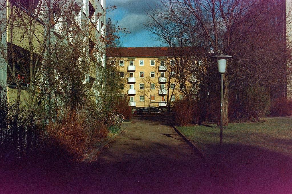 Aufnahme auf überlagertem Kodak Negativfilm