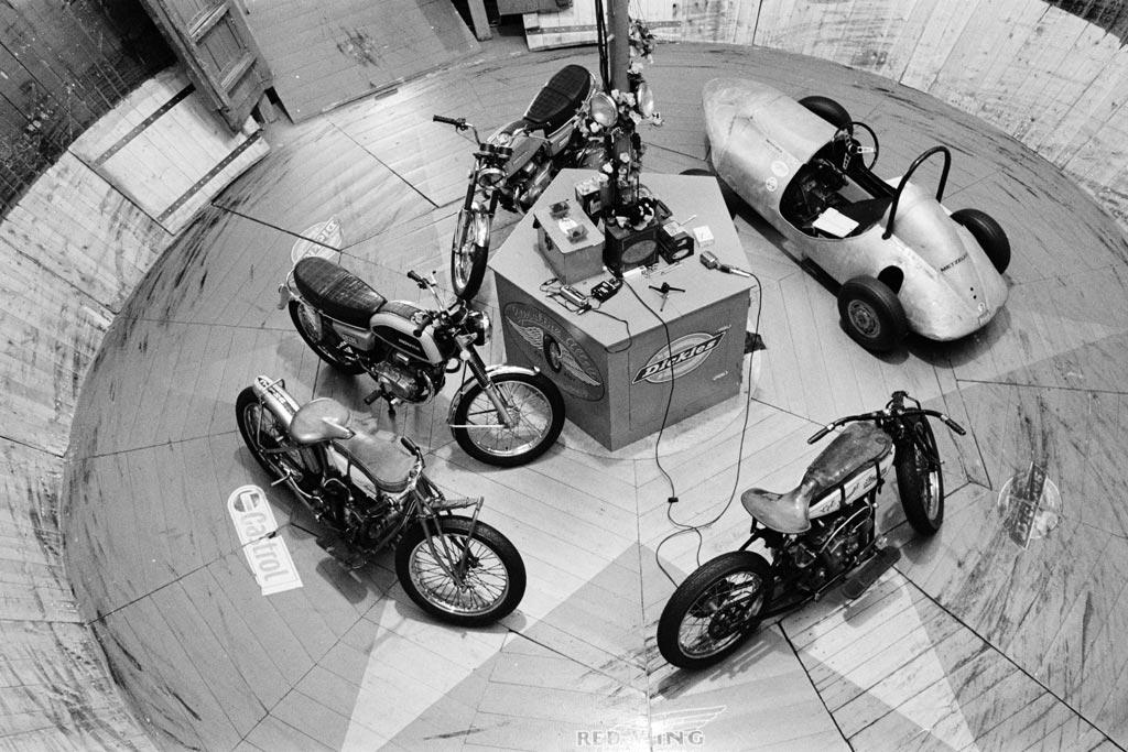 Die Fahrzeuge im Motodrom