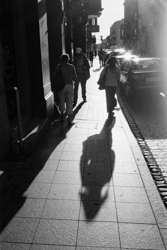 Fussgänger in Lodz