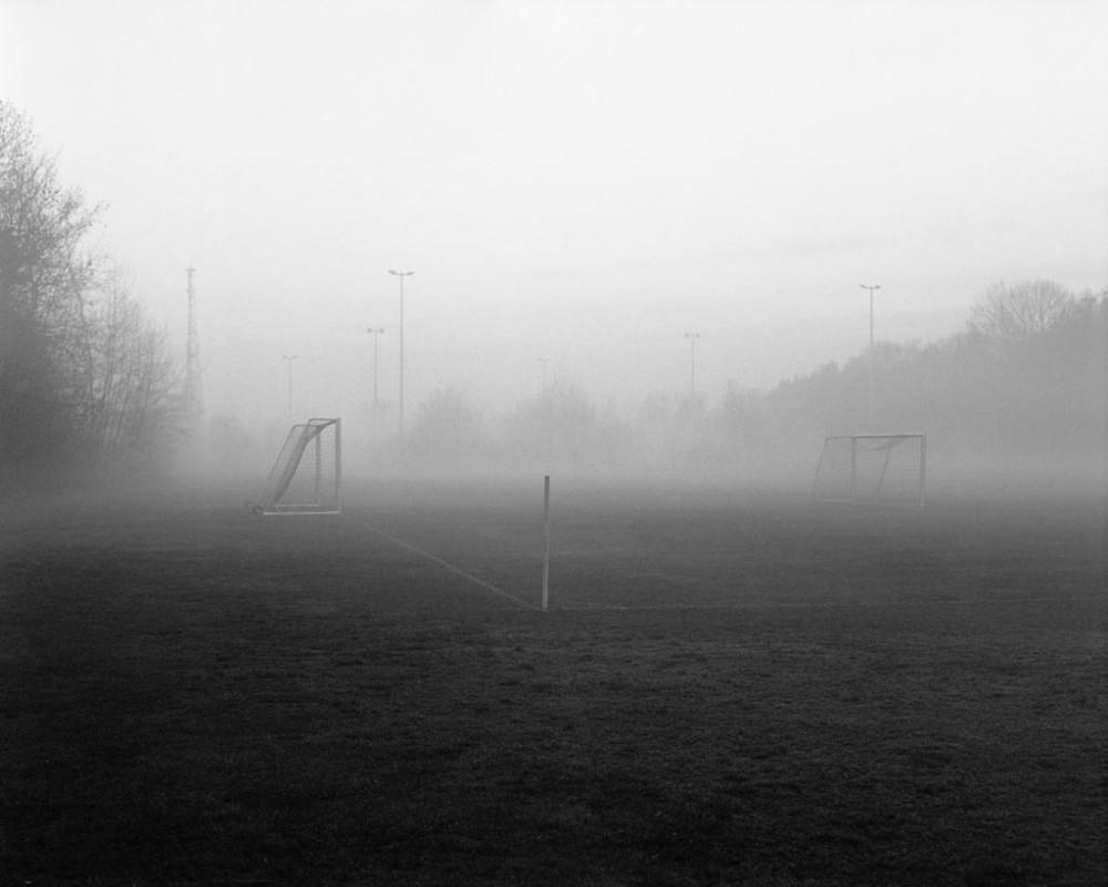 Fußballfeld im Nymphenburger Schloßpark