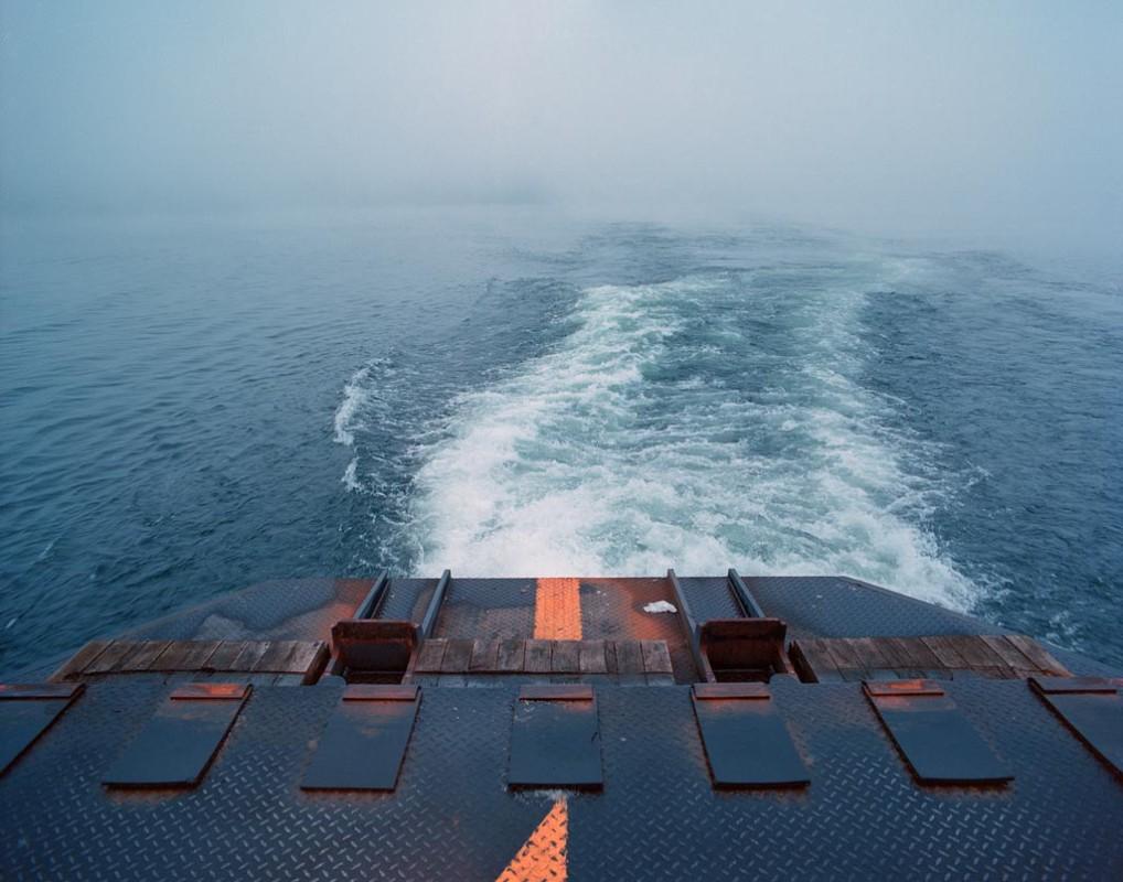 Fährfahrt über den Bodensee