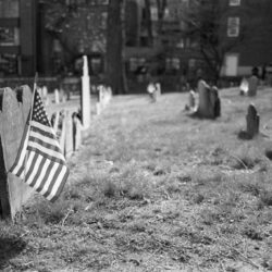 Friedhof in Boston