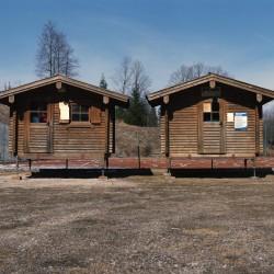 Portable Holzhütten