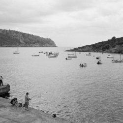 Angler in Sant Elm Mallorce