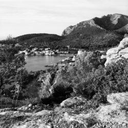 Ausblick auf die Bucht von Sant Elm