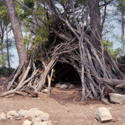 Hütte am Cala en Basset
