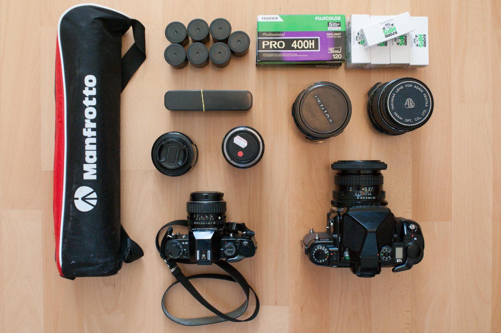 Reise-Ausrüstung